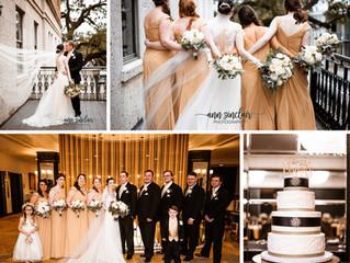Courtney + Sean | Wedding | The Admiral Hotel | Mobile, Alabama