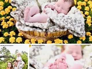 Tristan Miller | Newborn + Family | Theodore, Alabama