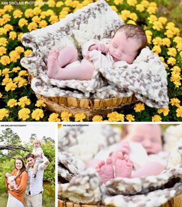 Tristan Miller   Newborn + Family   Theodore, Alabama