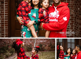 Sambhara Family | Christmas 2018 | Mobile, Alabama