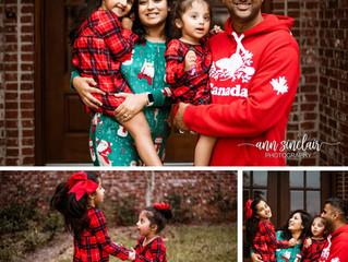 Sambhara Family | Christmas 2018 | Mobile, Alabama