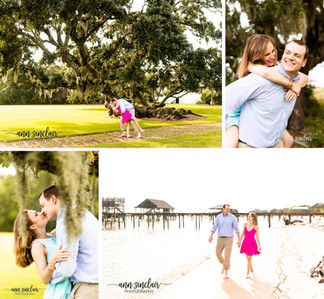 Callie + Parker   Engagement   Fry House   Point Clear, Alabama