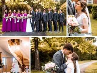 Alicia + Nathan | Wedding | Hermitage-Rippy Estate | Mobile, Alabama