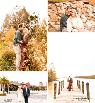 Morgan + Sean | Engagement | 5 Rivers + Downtown Mobile | Spanish Fort + Mobile, Alabama