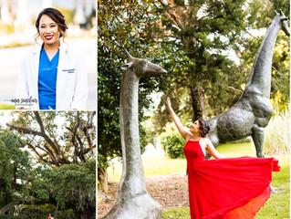 Kanya | Pediatrics Residency Graduation | USA Children's and Women's Hospital | Mobile, Alabama