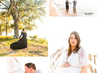 Lindsay + Chris | Maternity | Fairhope, Alabama
