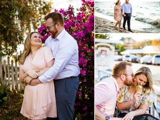 Jessica + Trey | Engagement | Fairhope, Alabama