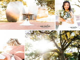 Sandra | Bridal Portraits | Ohr-O'Keefe Museum of Art + Biloxi Civic Center | Biloxi, Mississippi