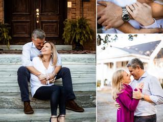 Ashley + Bradley | Engagement Photos | Mobile, Alabama