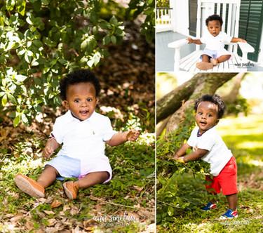 Jayden | 1st Birthday | Spring Hill College | Mobile, Alabama