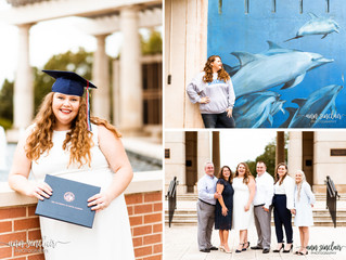 Jade | Graduation + Family | University of South Alabama | Mobile, Alabama