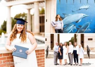 Jade | Graduation + Family | University of South Alabama | Mobile, Alabama