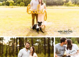 Megan + Nick | Pregnancy Announcement | Mobile, Alabama