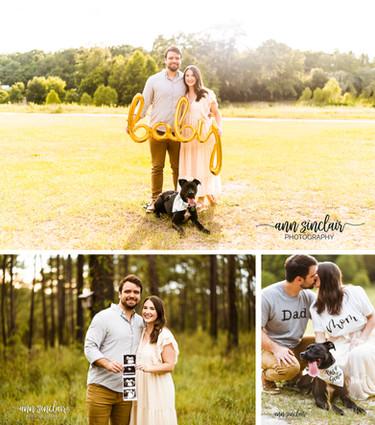 Megan + Nick   Pregnancy Announcement   Mobile, Alabama