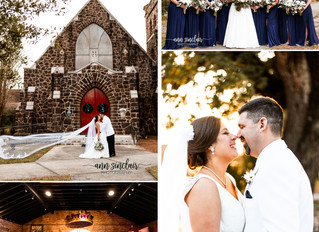 Hayley + Mike | Wedding | All Saints Episcopal Church + Mobile Carnival Museum | Mobile, Alabama