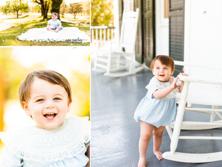 Baby James | 1st Birthday | Spring Hill College | Mobile, Alabama