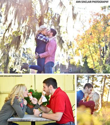 Tina + Shaun   Engagement   Mobile, Alabama