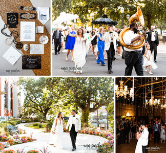 Bree + Murphy | Wedding | Cathedral Basilica of the Immaculate Conception + Mobile Carnival Museum |