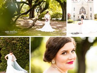Chelsea | Bridal Portraits | Spring Hill College | Mobile, Alabama