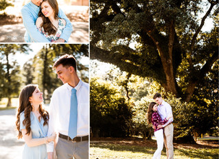 Alicia + Nathan | 1st Anniversary | Spring Hill College | Mobile, Alabama