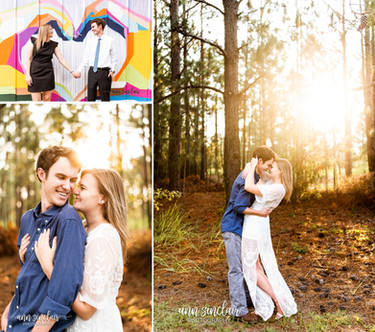 Brie + JD | Engagement | Downtown Mobile + Spanish Fort, Alabama
