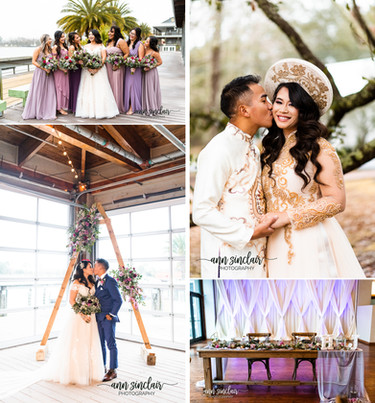 Hien + John   Vietnamese Tea Ceremony + Wedding   The Dock   Gulfport, Mississippi