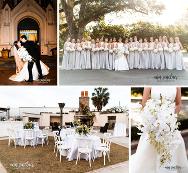 Allison + William | Wedding | St. Joseph's Chapel + Cotton Hall | Mobile, Alabama