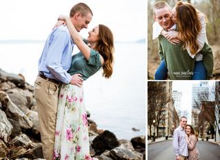 Sarah + Jack | Engagement | Lake Lanier + Downtown Atlanta, Georgia
