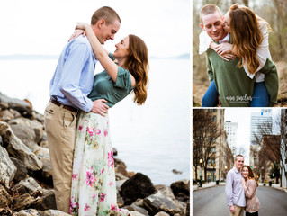 Sarah + Jack | Engagement | Lake Lanier + Downtown Atlanta, Georgia