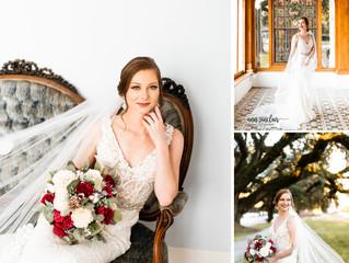 Danielle | Bridal Portraits | The Pillars | Mobile, Alabama