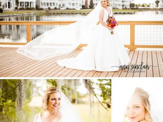 Rachel | Bridal Portraits | Montgomery, Alabama