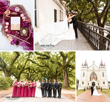 Chelsea + Yeon | Wedding | St. Joseph Chapel + The Admiral Hotel | Mobile, Alabama