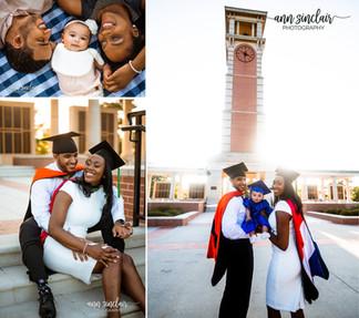 Ashton + Anthony | Graduation | University of South Alabama + Auburn University