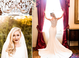 Brittney | Bridal Portraits | Hermitage-Rippy Estate | Mobile, Alabama