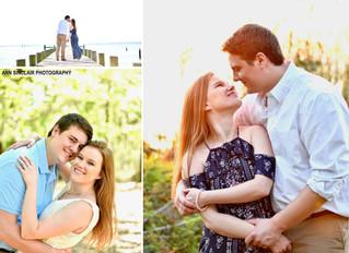 Danielle + Ty | Engagement | Spanish Fort + Fairhope, Alabama