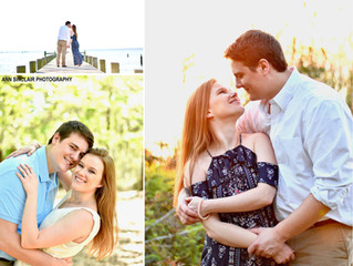 Danielle + Ty | Engagement | Spanish Fort + Fairhope, Alabama