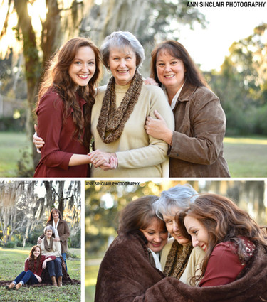 Three Generations   Tabby, Leisje, and Barbara   Mobile, Alabama