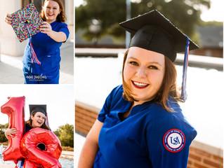 Caroline | Graduation | University of South Alabama