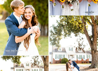 Julie + Mason | Wedding | Marks House | Pike Road, Alabama