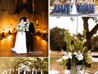 Mary Brandon + Joey | Wedding | St. Joseph's Chapel + Stewartfield | Spring Hill College | Mobile