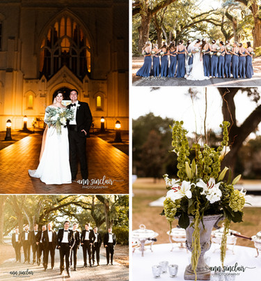 Mary Brandon + Joey | Wedding | St. Joseph's Chapel + Stewartfield | Spring Hill College | Mobil
