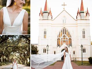 Alex | Bridal Portraits | Spring Hill College | Mobile, Alabama