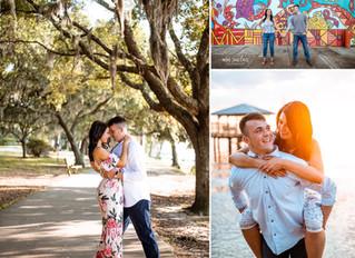 Aileen + Anthony | Engagement | Fairhope, Alabama