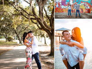 Aileen + Anthony | Engagement | Fairhope, Alabama