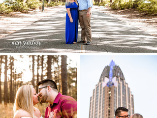 Lauren + Trevor | Engagement | Mobile, Alabama