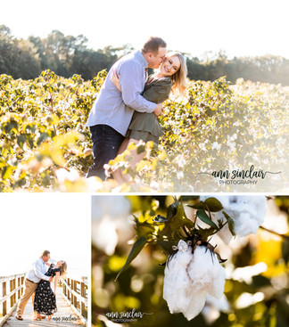 Alyssa + Josh | Engagement | Spanish Fort + Fairhope, Alabama