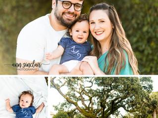 Nolan | 6 Months | Heron Lakes Country Club | Mobile, Alabama
