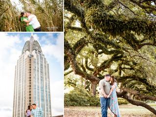 Allison + Derrick | Engagement | Mobile, Alabama