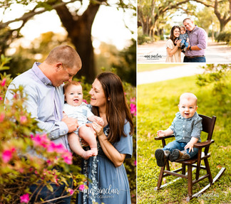 Stacey Family | Spring Hill College | Mobile, Alabama