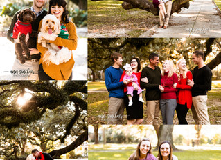 Christmas Minis 2019 | Washington Square | Downtown Mobile, Alabama